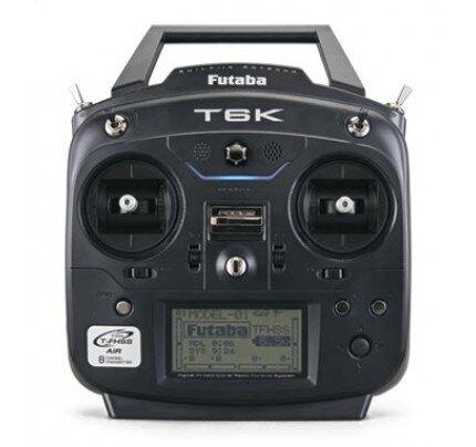 Futaba 6K V2 8-Channel 2.4Ghz Radio T‑FHSS, S‑FHSS, FHSS System
