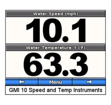 Garmin GST 10 Water Speed and Temperature Analog Adapter