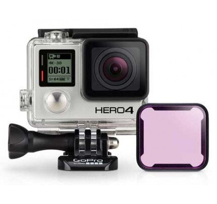 GoPro Magenta Dive Filter (for Standard + Blackout + Camo Housing)