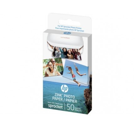 HP ZINK Sticky-backed Photo Paper-50 sht/2 x 3 in