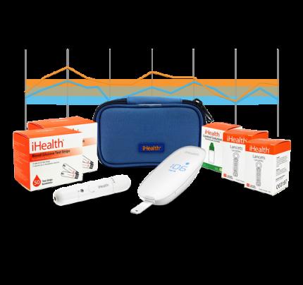 iHealth Smart Gluco-Monitoring Bundle