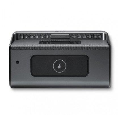 iHome iBN350 Wireless Charging + Streaming Stereo Clock Radio