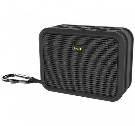 iHome iBN6 Rugged Portable Waterproof Bluetooth Stereo Speaker with Speakerphone, NFC and USB Charging