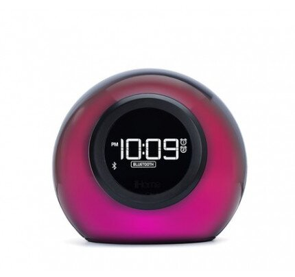 iHome iBT29 Color Changing Dual Alarm Clock + USB Charging