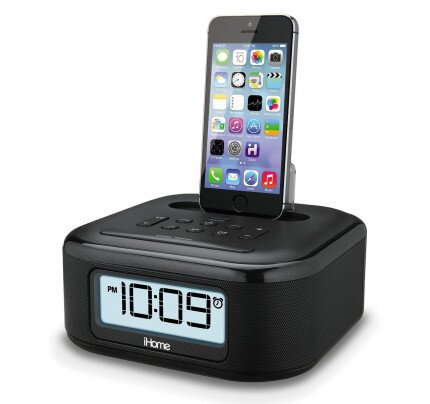 iHome iPL23 Stereo FM Clock Radio with Lightning Dock