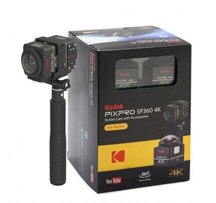 Kodak SP360 4K - DUAL PRO Pack - Includes (2) SP360 4K VR Camera