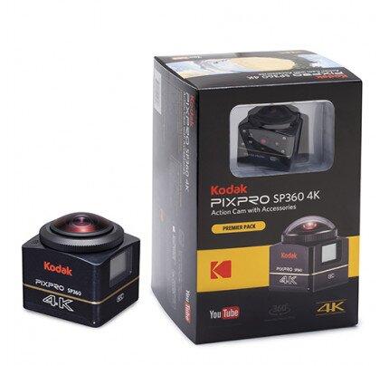 Kodak SP360 4K - Premier Pack - Includes (1) SP360 4K VR Camera