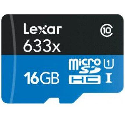 Lexar High-Performance 633x MicroSDHC/MicroSDXC UHS-I Cards