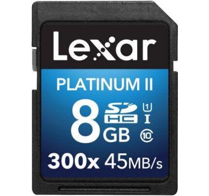 Lexar Platinum II 300x SDHC/SDXC UHS-I Card