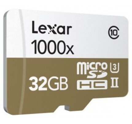 Lexar Professional 1000x MicroSDHC/MicroSDXC UHS-II Cards