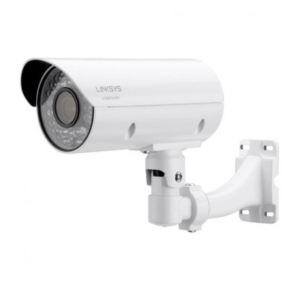 Linksys Outdoor Bullet Camera 1080p 3MP Night Vision for Business