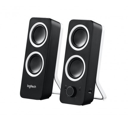 Logitech Rich Stereo Sound Z200 Stereo Speakers