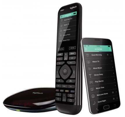Logitech Harmony Elite Advanced Universal Remote Control, Hub, and App