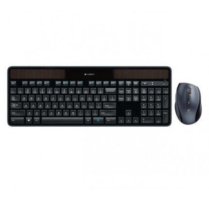 Logitech Wireless Solar Keyboard K750 & Marathon Mouse M705 Bundle