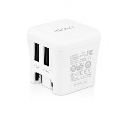 Macally 15 Watt Two USB Port Home Charger