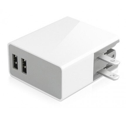 Macally 24 Watt Two USB Port Home Charger