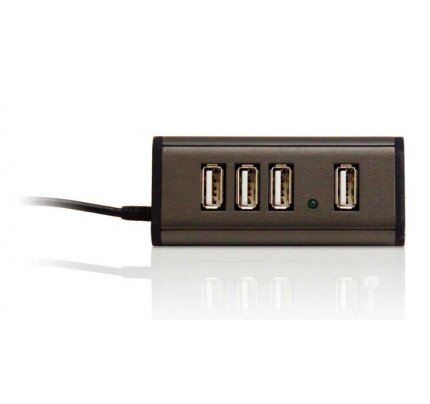 Macally 4-Port Hi-Speed USB 2.0 Hub for Mac and PC