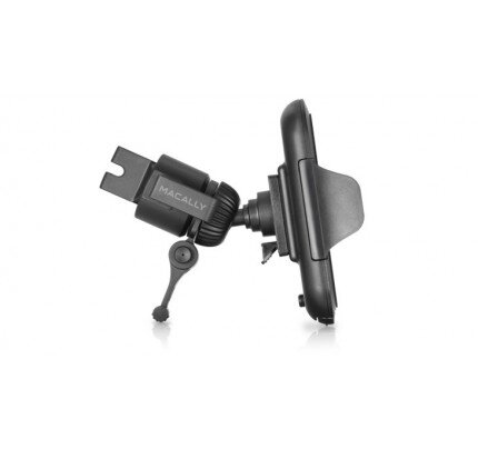 Macally Fully Adjustable Car Vent Mount for Smartphones and Most GPS