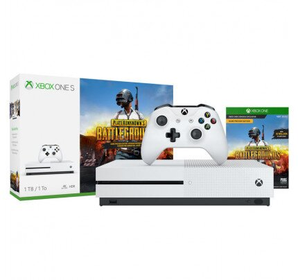 Microsoft Xbox One S PLAYERUNKNOWN'S BATTLEGROUNDS Bundle (1TB)
