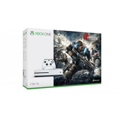 Microsoft Xbox One S 1TB Console - Gears of War 4 Bundle