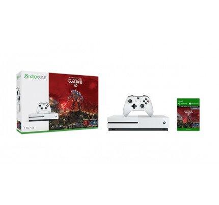 Microsoft Xbox One S 1TB Console - Halo Wars 2 Bundle