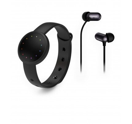 Misfit Shine 2 + 1More In-Ear Headphone - Carbon Black