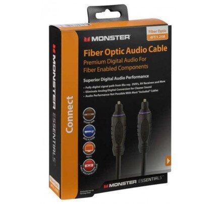 Monster Essentials Fiber Optic Audio Cable