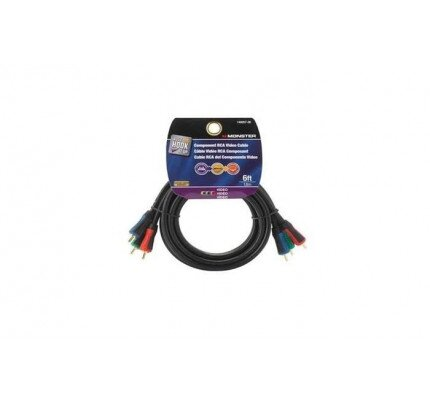 Monster Just Hook It Up Component Video Cable