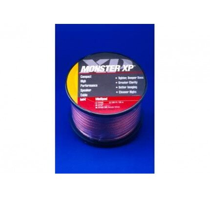 Monster XP Clear Jacket - Compact Speaker Cable
