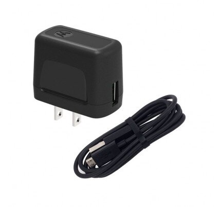 Motorola USB Wall Charger with Micro-USB Data Cable
