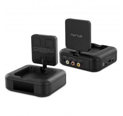 Nyrius 5.8GHz 4 Channel Wireless Audio/Video Sender Transmitter & Receiver