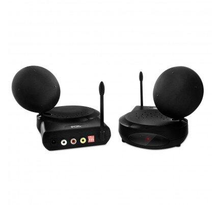 Nyrius 5.8GHz 6 Channel Wireless Audio Video Sender Transmitter & Receiver System - Tejar