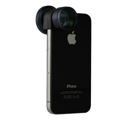 olloclip iPhone 4/4s / iPod Touch 4th Gen Telephoto + CPL Lens