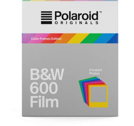 Polaroid B&W Film for 600 Color Frames