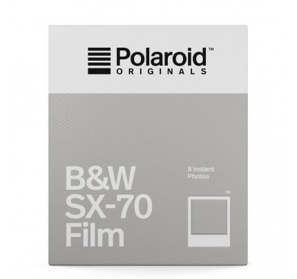 Polaroid B&W Film For SX-70