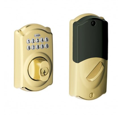 Schlage Camelot Trim Connected Keypad Deadbolt