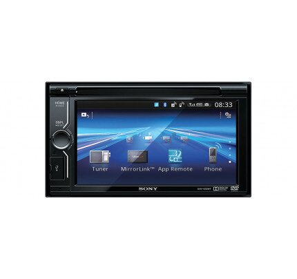 Sony 6.1 in (15.5 cm) LCD DVD Receiver with MirrorLink