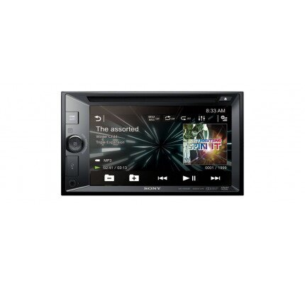 Sony 6.2 in (15.7 cm) LCD DVD Receiver