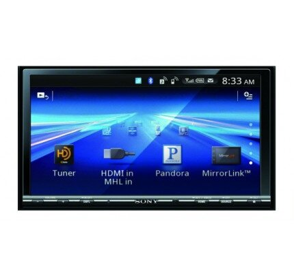 Sony 7 in (17.8 cm) LCD DVD Receiver with MirrorLink