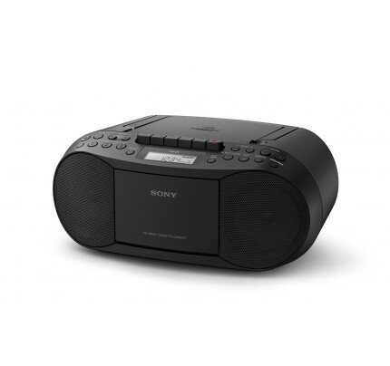 Sony CD/Cassette Boombox with Radio