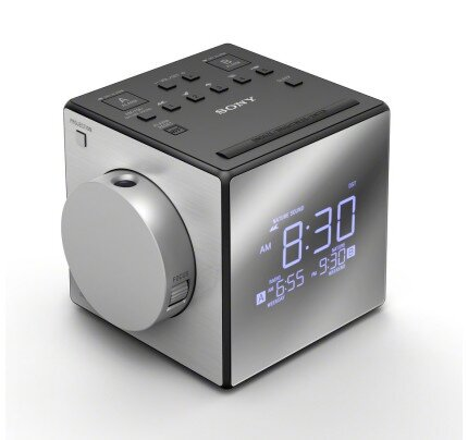Sony Clock Radio with Time Projector