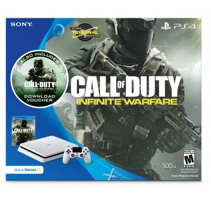 Sony PlayStation 4 Call of Duty Infinite Warfare Console Bundle Glacier White