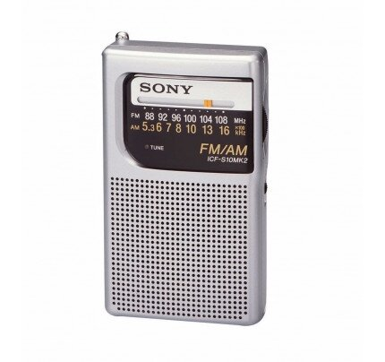 Sony Pocket Radio with Speaker