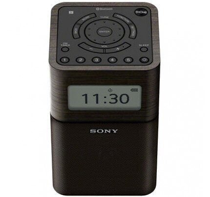 Sony Portable Clock Radio with Bluetooth
