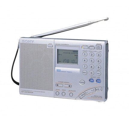 Sony Portable Radio with Speaker - ICF-SW7600GR