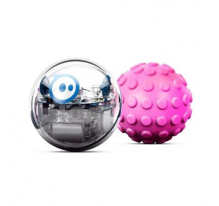 Sphero SPRK+ and Pink Nubby Cover