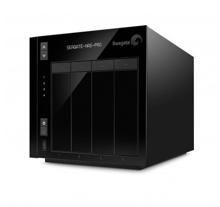 Seagate NAS Pro 4-Bay Network Attached Storage