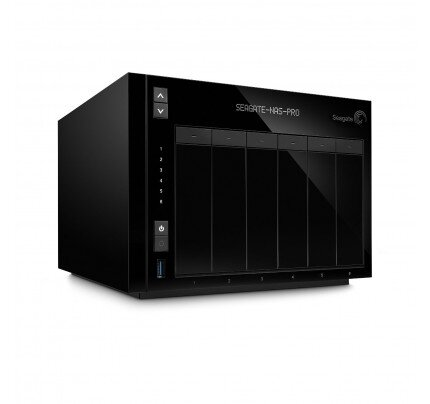 Seagate NAS Pro 6-Bay Network Attached Storage