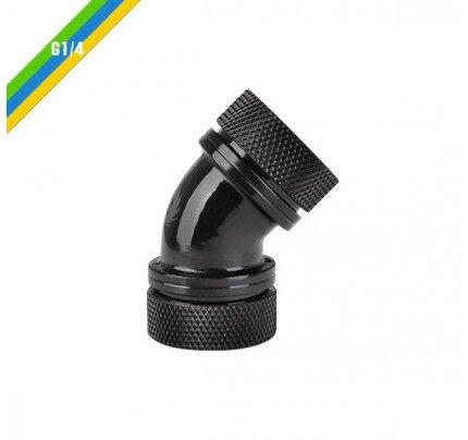 Thermaltake Pacific PETG Tube 45-Degree Dual Compression 16mm OD