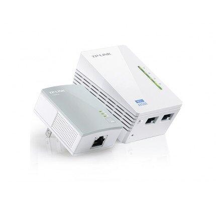 TP-Link 300Mbps Wi-Fi Range Extender, AV500 Powerline Edition